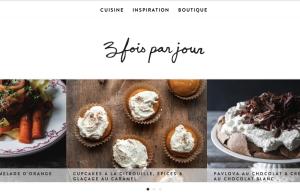 Site web troisfoisparjours