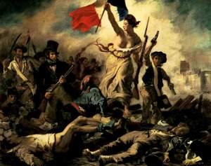 La liberté menant le peuple, Eugène Delacroix