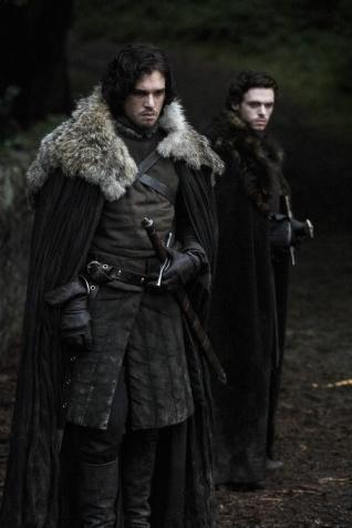 Jon Snow et Robb Stark *HBO