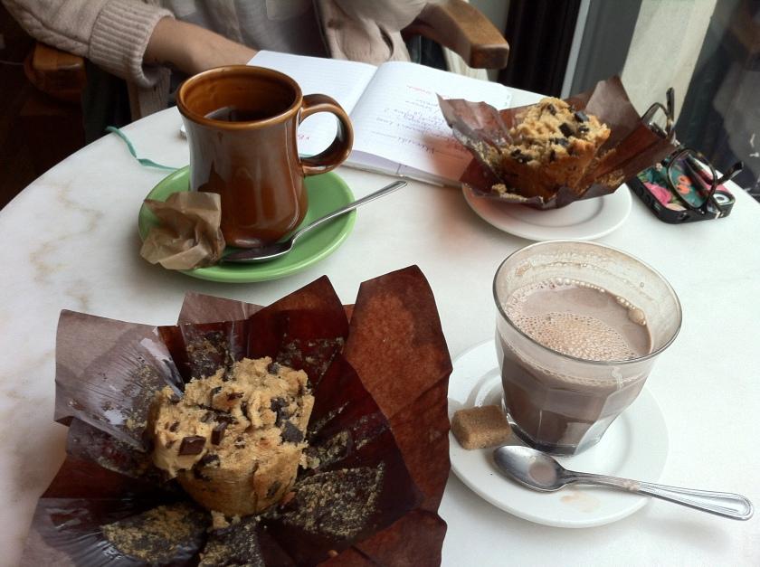 Café Parvis, crédit Martine
