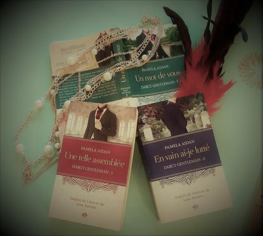 Bibliothérapie; DArcy gentleman; Jane Austen; Le fil rouge; Le fil rouge lit; Lecture; Livre; Orgueil et Préjugés; Pemberley; Romance; Pamela Aidan; Les livres qui font du bien