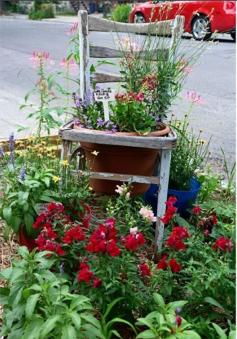chaise fleurie, vie de quartier, Hochelaga, poésie