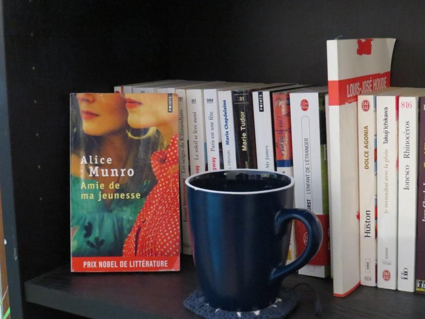 Le fil rouge; Le fil rouge lit; Bibliothérapie; Littérature; Lecture; Livres; Les livres qui font du bien; Amie de ma jeunesse; Alice Munro; Canada; Femmes; Nouvelles