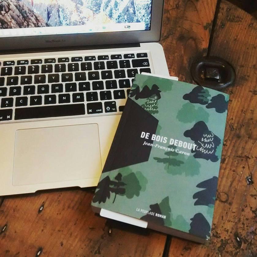de bois debout jean-françois caron le fil rouge lit la peuplade roman littérature québécoise