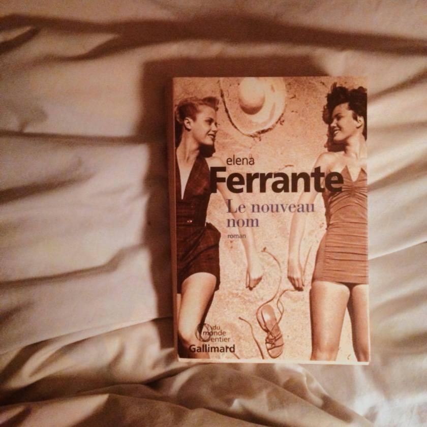 Elena Ferrante, L'amie prodigieuse, Le nouveau nom, Gallimard, le fil rouge, lefilrougelit, Lila et Elena, littérature italienne, Naples, amitié, série,
