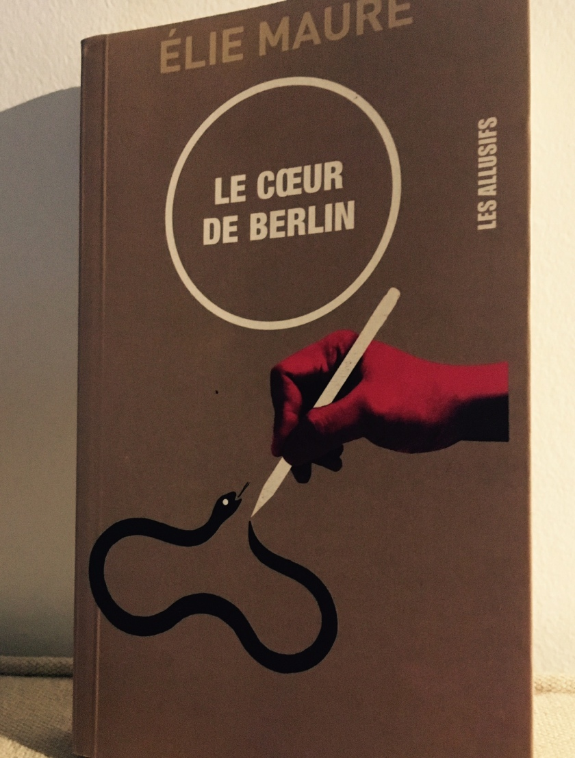 Le fil rouge, le fil rouge lit, le coeur de Berlin, Élie Maure, Les allusifs, bibliothérapie