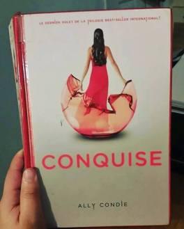 littérature, YA littérature, jeunesse, Ally Condie, Conquise, science-fiction, romance, post-apocalyptique, aventure, autour des livres, bibliothérapie