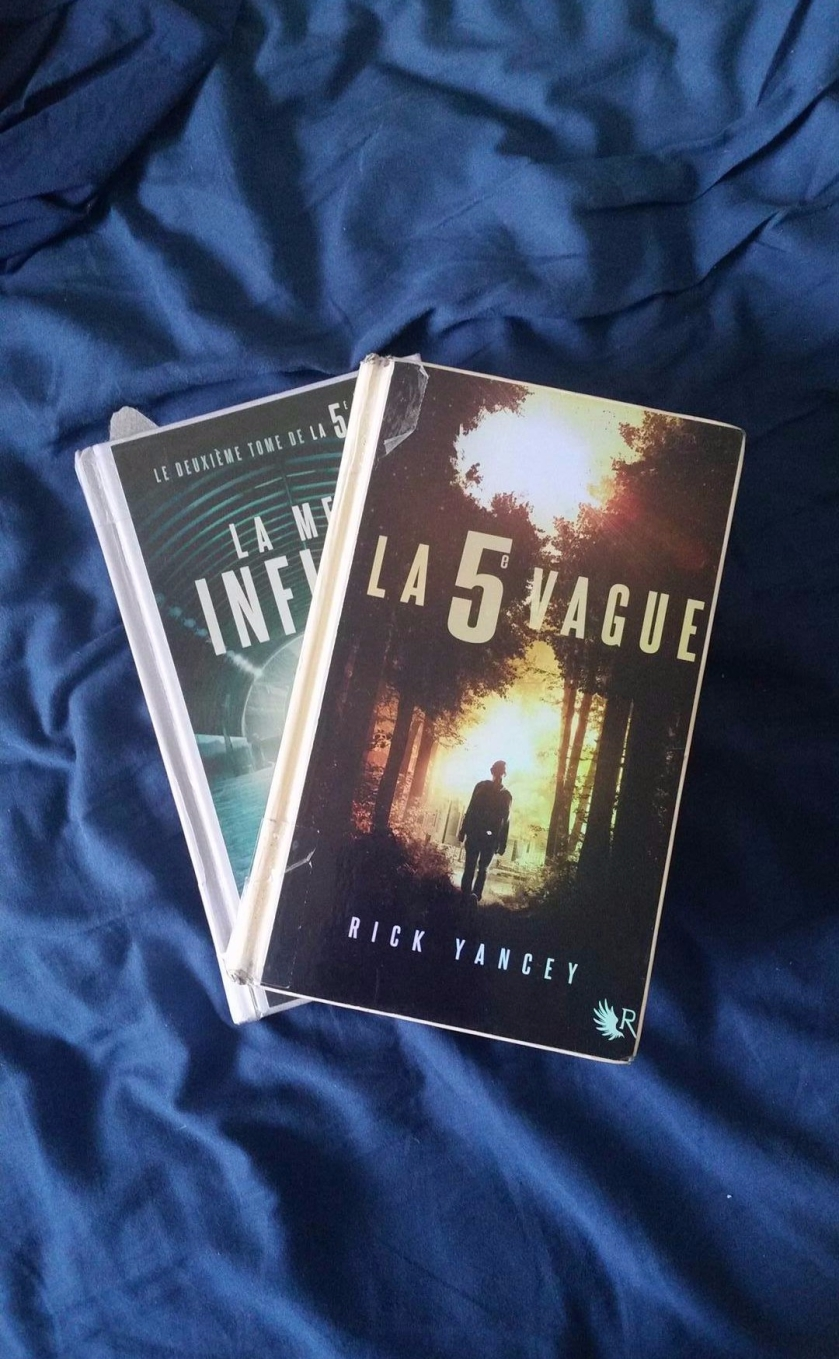 la cinquième vague, Rick Yancey, littérature jeunesse, YA litterature, livres, bibliothérapie, le fil rouge, le fil rouge lit,