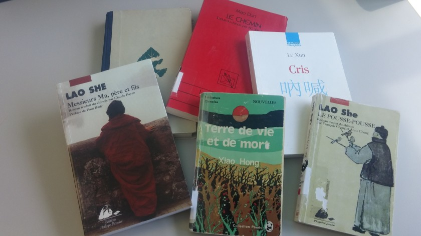 Le fil rouge; L fil rouge lit; Bibliothérapie; Littérature; Lecture; Livres; Les livres qui font du bien; Les auteurs du 4-Mai; Mouvement du 4-Mai, Lu Xun, Lao She, Xiao Hong, Mao Dun, Chine, Révolution par les livres