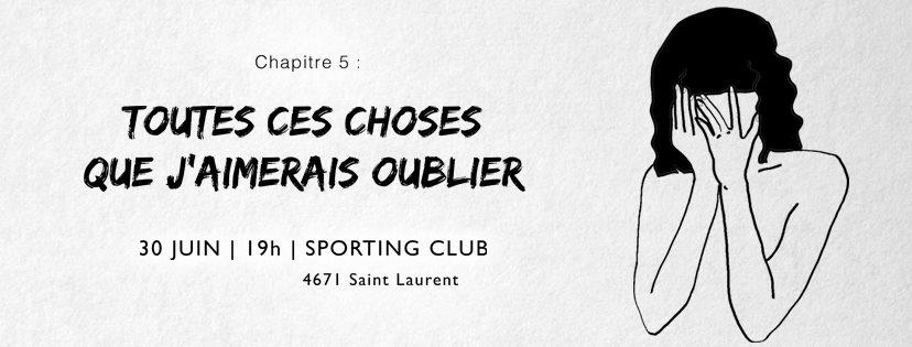 Les Intimistes, lecture publique, Sporting Club, comédiennes, Québec, Montréal, collectif, collectif interculturel, arts de la scène, femmes