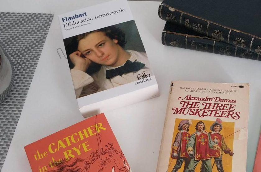 flaubert, jd saligner, alexandre dumas, trois mousquetaires, livres usagers, bouquinerie, achat, bibliothèque, choix, prix, cher, dispendieux, économies