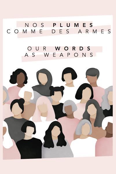 nos plumes comme des armes, féminisme, racisme, le fil rouge, lancement, poésie