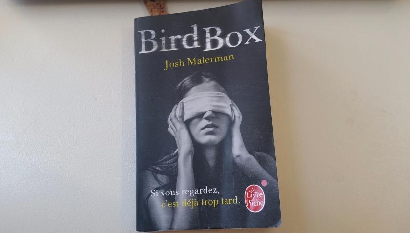 le fil rouge, le fil rouge lit, bibliothérapie, les livres qui font du bien, horreur, suspense, josh malerman, livre de poche, Bird box, littérature étrangère
