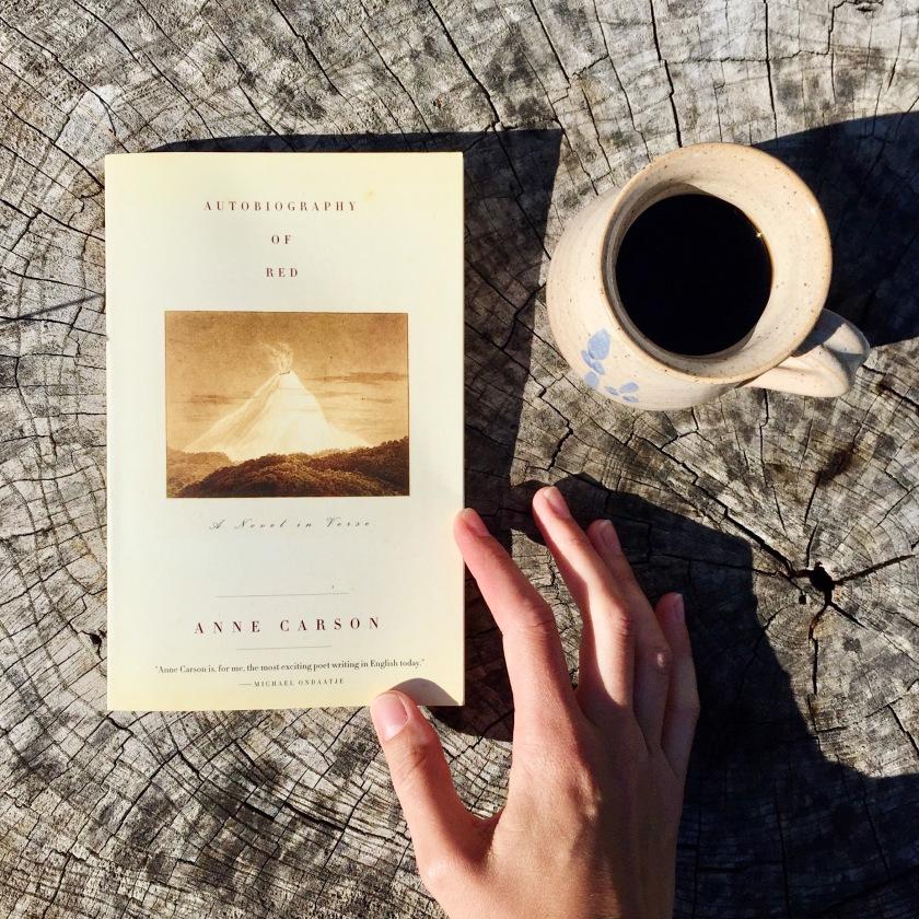 Anne Carson, littérature canadienne, roman, poésie, mythologique grecque, Autobiography of Red, littérature, livres, lecture, le fil rouge, le fil rouge lit, les livres qui font du bien, bibliothérapie