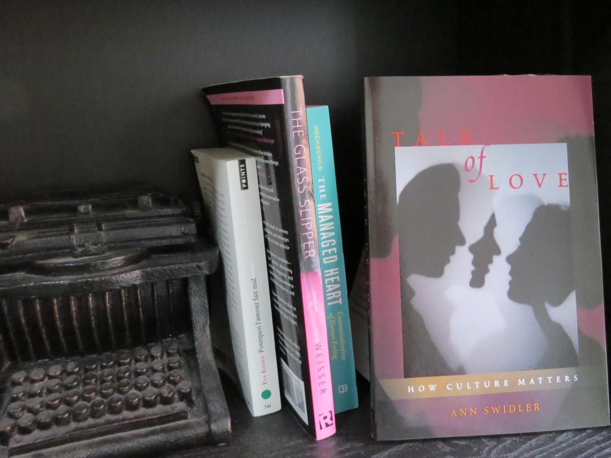 Le fil rouge; Le fil rouge lit; Bibliothérapie; Lecture; Livres; Les livres qui font du bien; Littérature; Ann Swidler; Talk of love; Chick lit; Répertoire