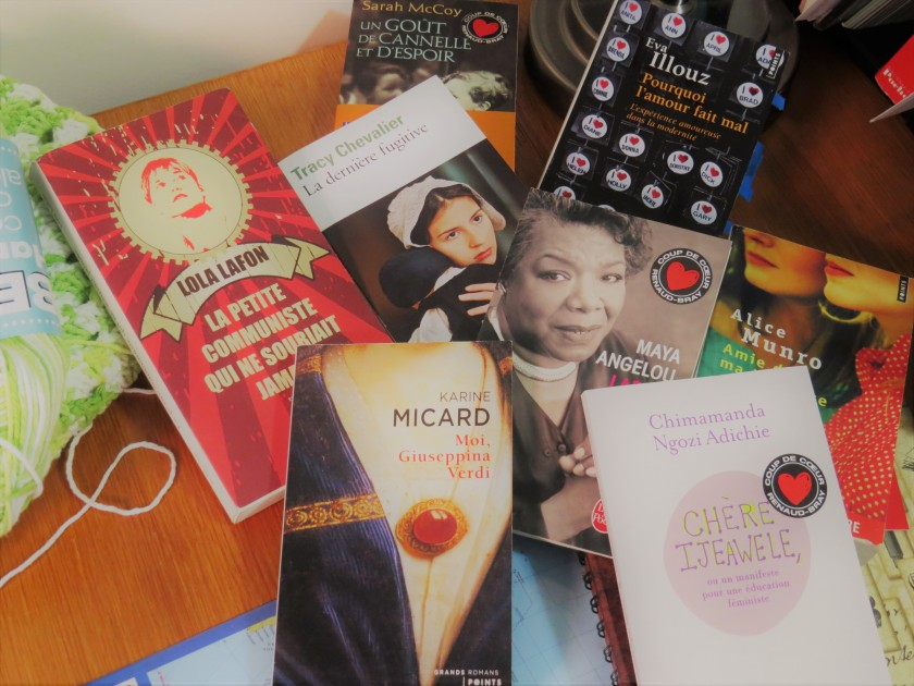 Le fil rouge; Le fil rouge lit; Bibliothérapie; Littérature; Lecture; Livres; Les livres qui font du bien; Une année de lecture; Livres écrits par des femmes