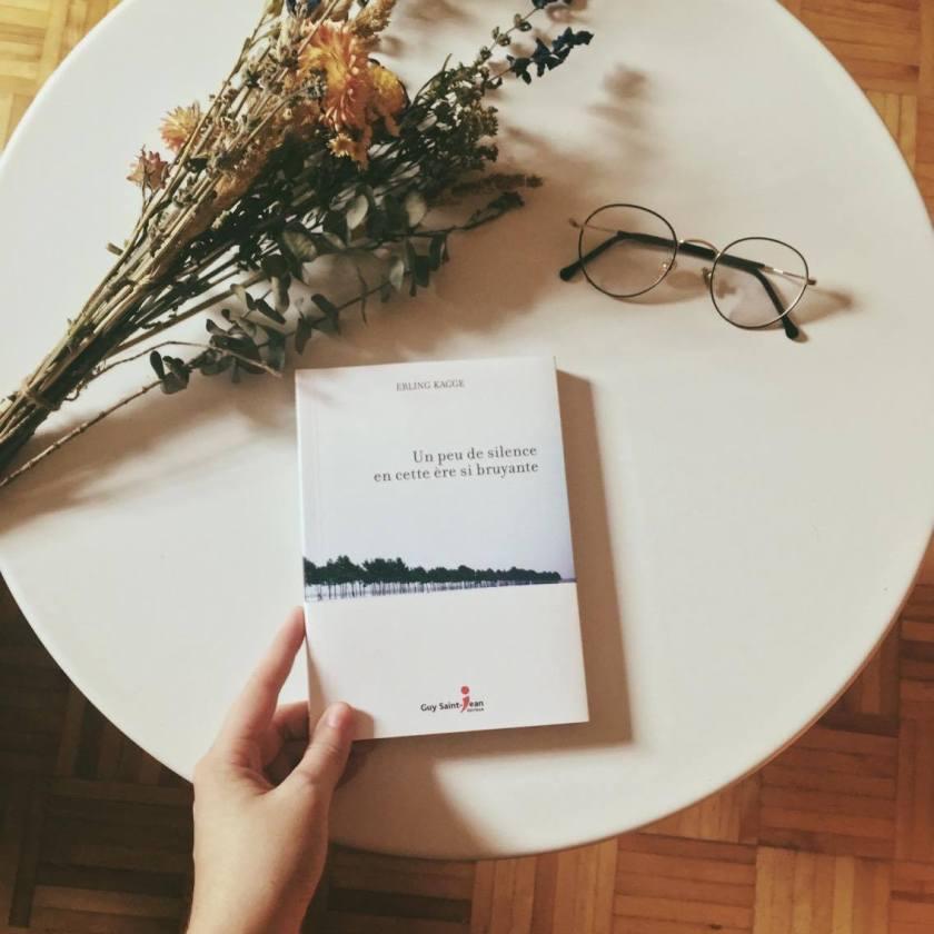 Saint-Jean Éditeur,Norvège, le fil rouge, lefilrougelit, les livres qui font du bien, essai, le silence, calme, réflexion, littérature étrangère, pouvoir du silence, un peu de silence, calme, repos, slow living, Erling Kagge, Un peu de silence en cette ère si bruyante,