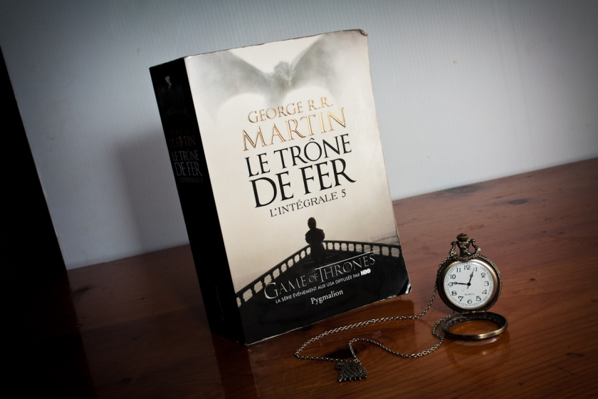 le fil rouge lit, le fil rouge, le temps, l'attente, séries, game of thrones, Le Trône de Fer, George R.R Martin,
