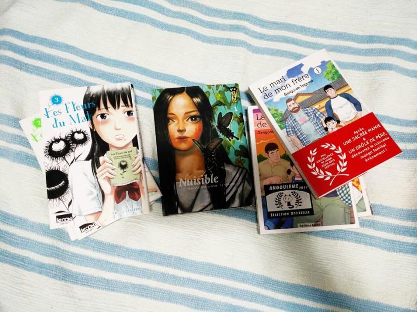 manga, les fleurs du mal, nuisible, le mari de mon frère, seinen, shonen, japon, le fil rouge lit, les livres qui font du bien