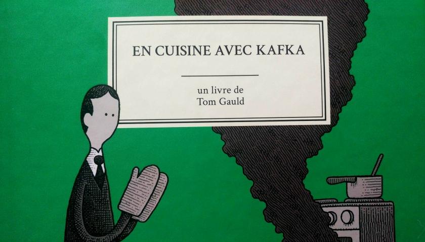 En cuisine avec Kafka, Baking with Kafka, Tom Gauld, Alto, traduction, bande-dessinée, planches, bd, littérature, lecture, le fil rouge, le fil rouge lit, les livres qui font du bien, bibliothérapie,