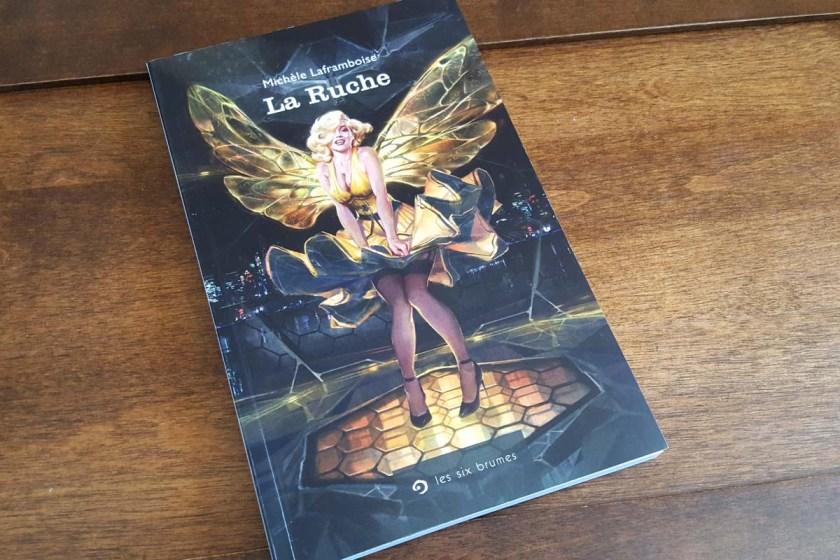 Le fil rouge, Les Six Brumes,La Ruche, Michèle Laframboise, Science fiction, littérature québécoise
