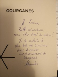 Gourganes Alexandra Gilbert Stanké Littérature québécoise