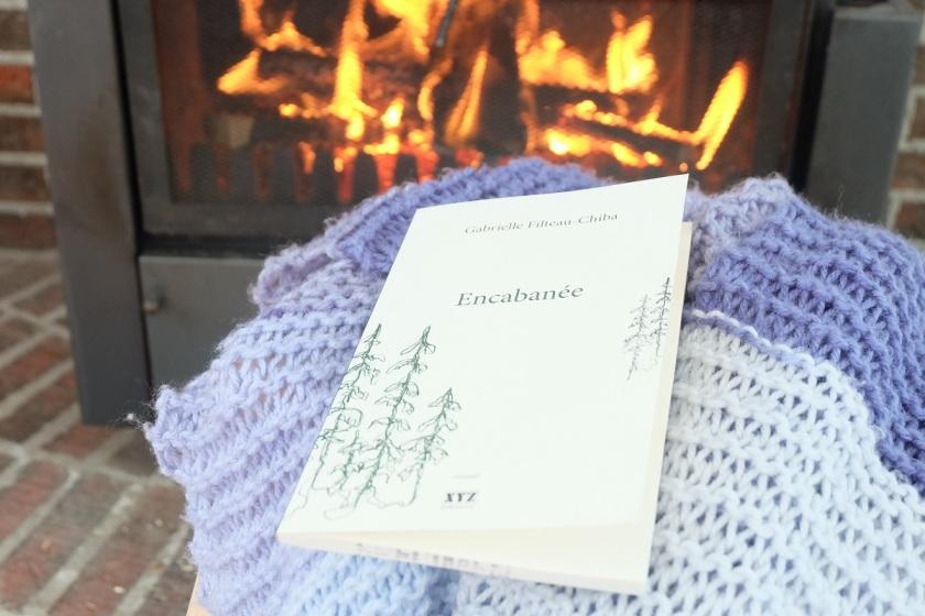 Le fil rouge le fil rouge lit bibliothérapie littérature lecture livres les livres qui font du bien Gabrielle Filteau-Chiba Encabanée littérature québécoise Éditions XYZ