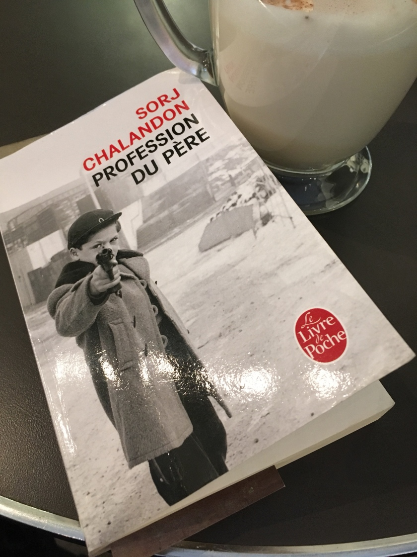 Le fil rouge, Profession du père, Livre de poche, bibliothérapie, les livres qui font du bien, Sorj Chalandon, Le fil rouge lit
