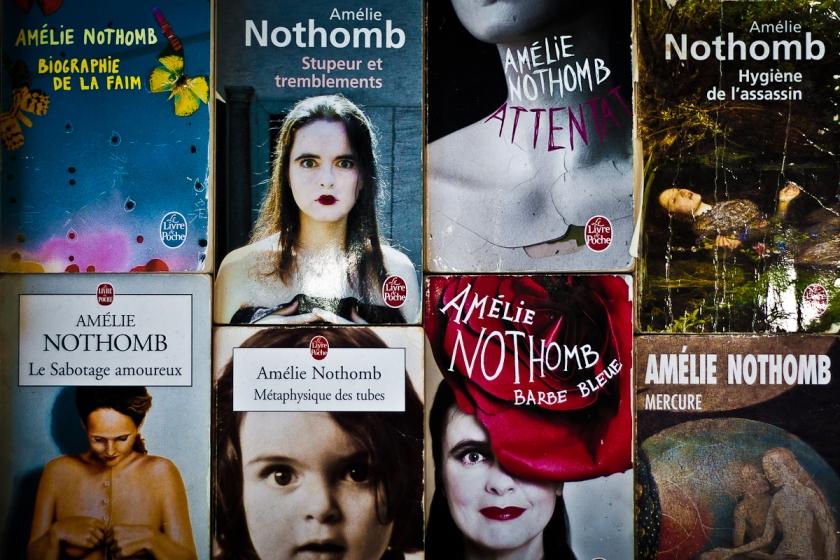 Amélie Nothomb, Autrice, Littérature, Lecture, Autrice belge, Lefilrougelit, lefilrouge, maîtrise, mémoire, études littéraires, livres