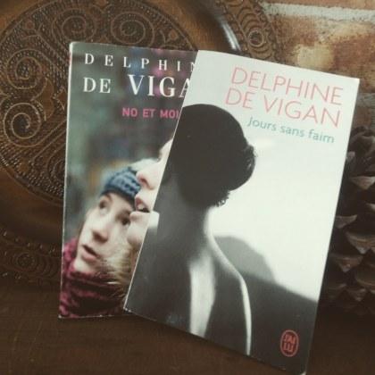 Le fil rouge le fil rouge lit bibliothérapie littérature lecture livres les livres qui font du bien Delphine de Vigan Jours sans faim No et moi Rien ne s'oppose à la nuit D'après une histoire vraie