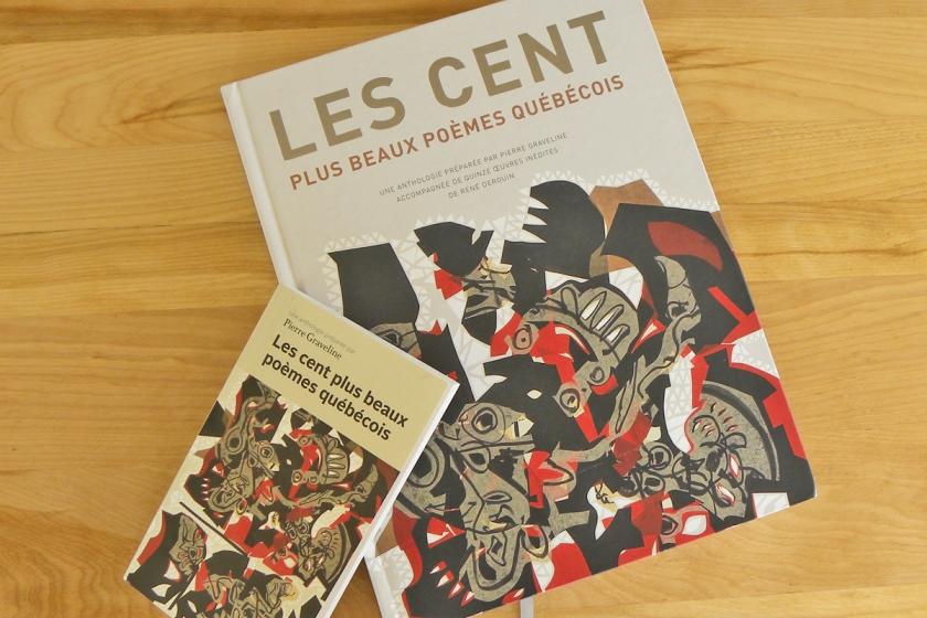 Le fil rouge Le fil rouge lit Littérature Bibliothérapie Les livres qui font du bien Les cent plus beaux poèmes québécois Pierre Graveline Fides Découverte Poésie