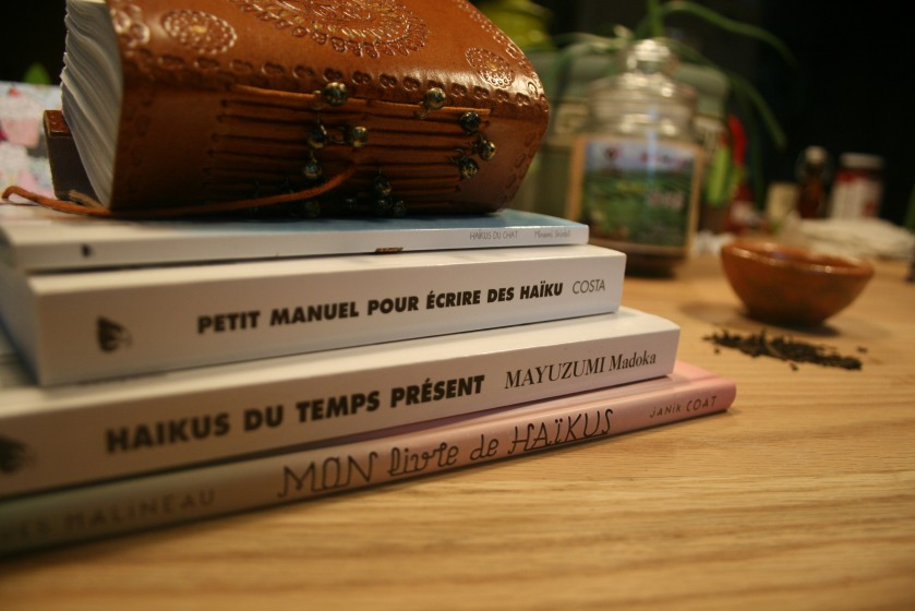 écriture, Haiku, Jean-Hugues Malineau, Le fil rouge, lefilrouge, Mayuzumi Madoka, Minami Shinbô, Philippe Costa, poésie, processus créateur, réflexion