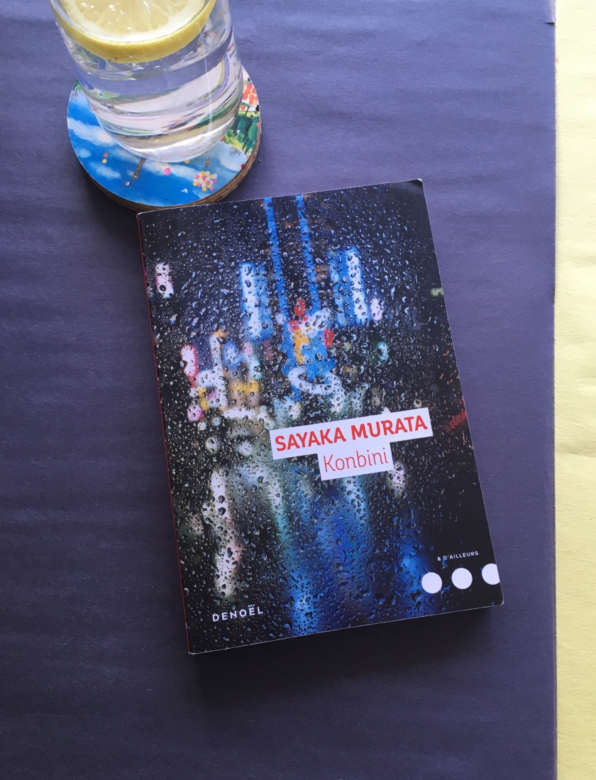 Konbini; Sayaka Murata; livre; bibliothérapie; le fil rouge; Denoël