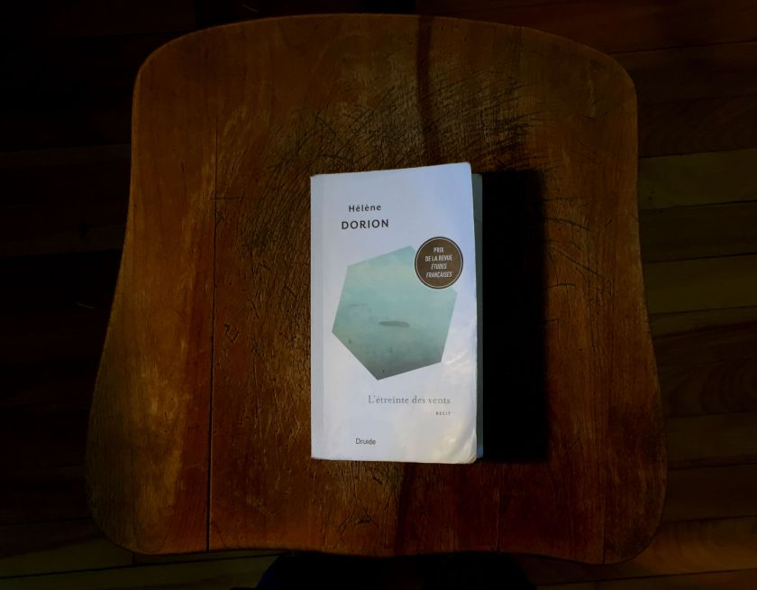 édition du druide, hélène dorion, l'étreinte des vents, littérature québécoise, histoire d'amour, récit introspectif, introspectif amour, dorion hélène amour, le fil rouge lit, le fil rouge, bibliothérapie, les livres qui font du bien