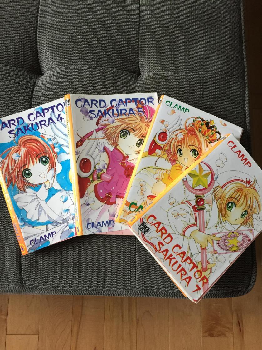 sakura card captor, mangas, littérature jeunesse, clamp, japon