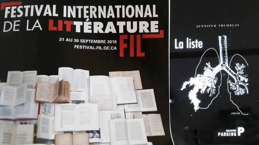 Le fil rouge, le fil rouge lit, #Lefilrouge, #Lefilrougelit, bibliothérapie, #bibliothérapie, Les livres qui font du bien, Lecture, Jennifer Tremblay, Théâtre, Festival International de Littérature, FIL, Littérature québécoise, La liste, évènement, soirée littéraire.