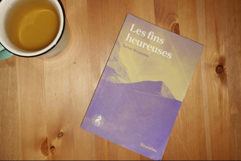 le fil rouge, le fil rouge lit, bibliothérapie, lecture, livre, éditions Cheval d'août, nouvelles, Simon Brousseau, les fins heureuses, littérature québécoise,