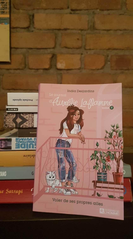 Aurélie laflamme India Desjardins Littérature jeunesse Roman jeunesse Éditions de l'homme le fil rouge lit