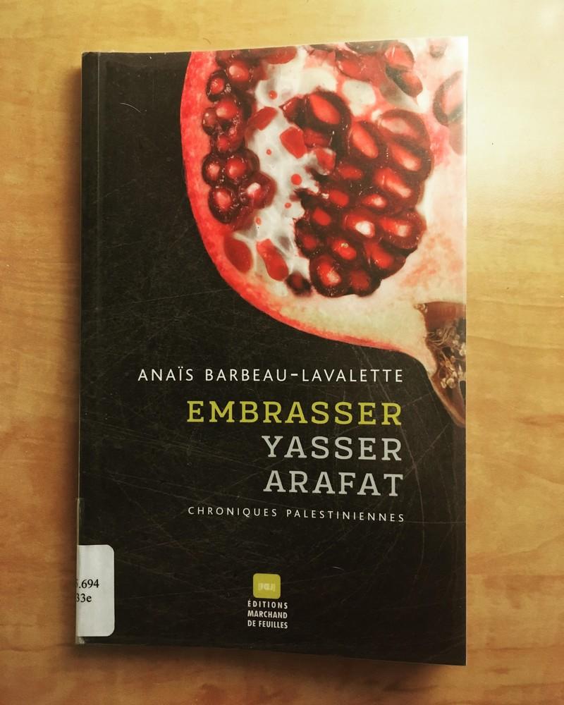 lecture, le fil rouge, le fil rouge lit, Anaïs Barbeau-Lavalette, littérature québécoise, Palestine, femme