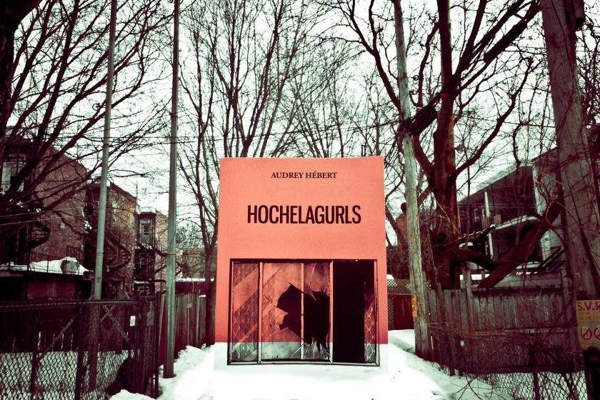 Hochelagurls, Audrey Hébert, Poésie, Hochelaga, Hommage, Ode, L'Écrou, Le Fil Rouge, Le Fil Rouge lit, Lecture, Littérature, Québec, Montréal, Poésie québécoise