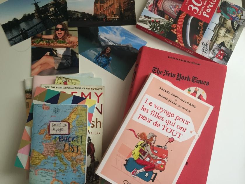Voyages d'une vie, Le voyage pour les filles qui ont peur de tout, Isabelle Marjorie Tremblay, Marie-Julie Gagnon, Ariane Arpin Delorme, littérature, littérature québécoise, récit de voyage, le fil rouge, le fil rouge lit, bibliothérapie, les livres qui font du bien