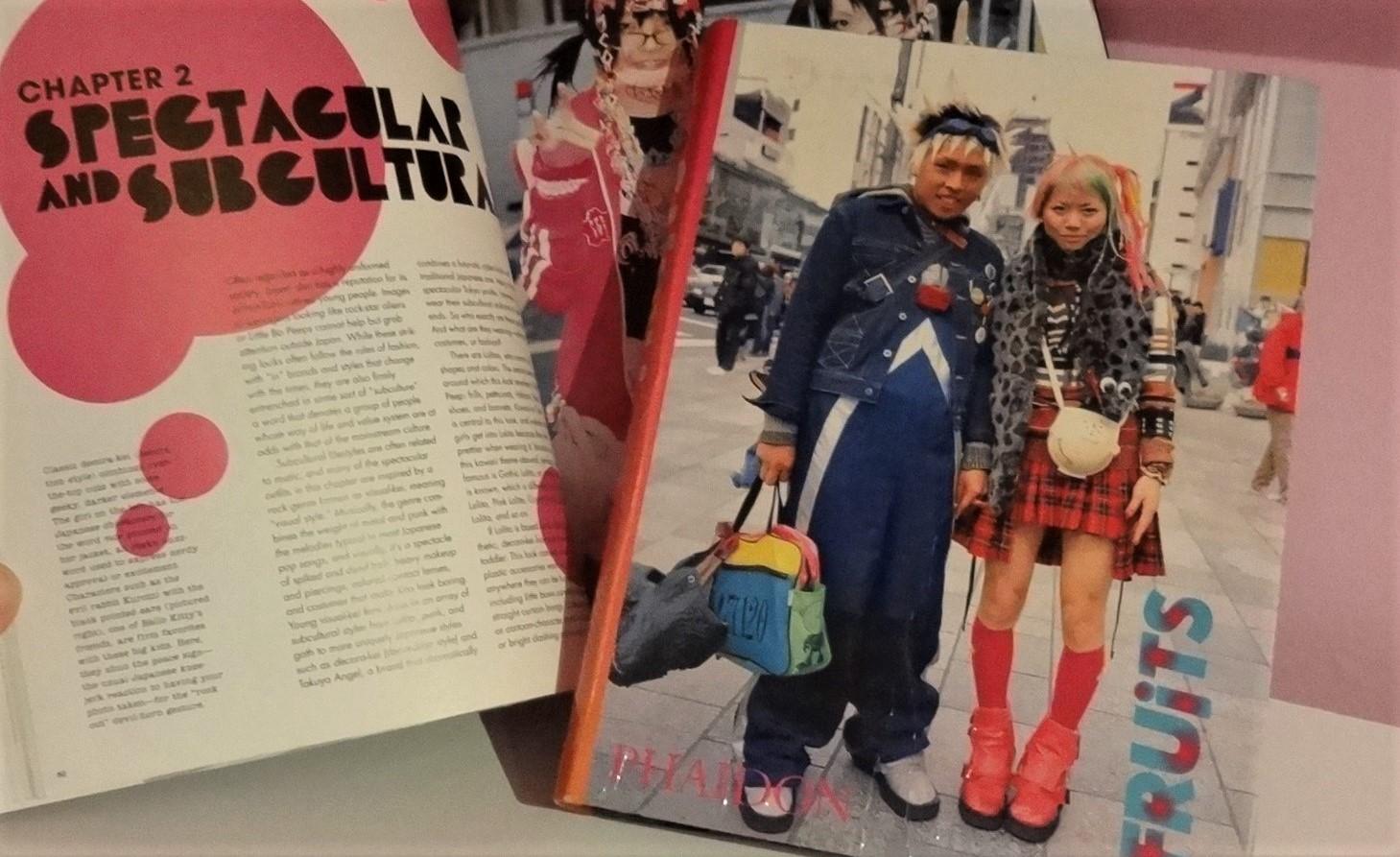 Le fil rouge livres lecture littérature étrangère Japon Fruits Shoichi Aoki mode photographie vêtements Tokyo Harajuku