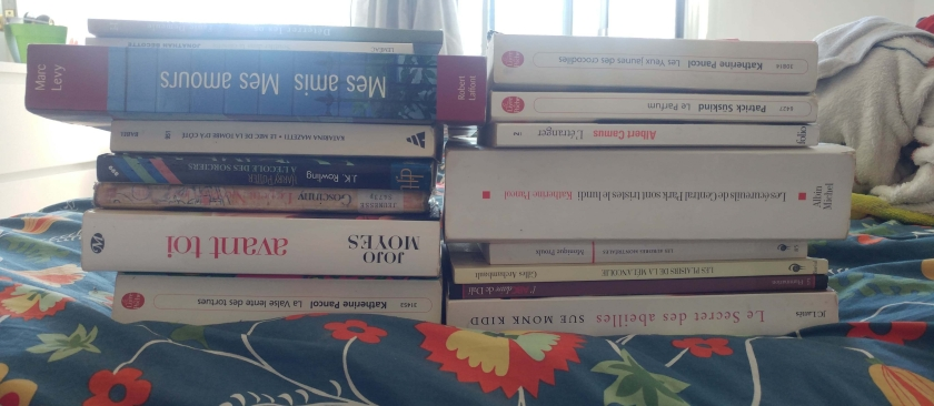 le fil rouge, le fil rouge lit, bibliothérapie, livres, lecture, le paradoxe du choix, choisir, PAL, pile à lire