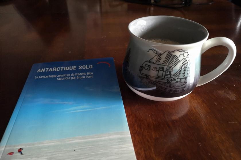 Antarctique Solo, la fantastique aventure de Frédéric Dion racontée par Bryan Perro