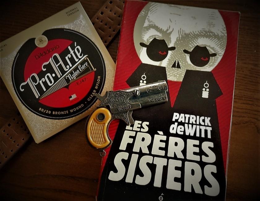 Les frères Sisters Patrick deWitt western roman canadien cowboys ouest Le fil rouge livre lecture aventure les livres qui font du bien