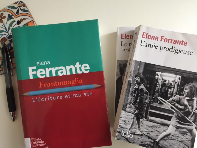 Frantumaglia, L'écriture et ma vie, Elena Ferrante, Gallimard, Le fil rouge, le fil rouge lit, bibliothérapie, les livres qui font du bien, littérature, littérature italienne, mystère Ferrante, livres sur l'écriture