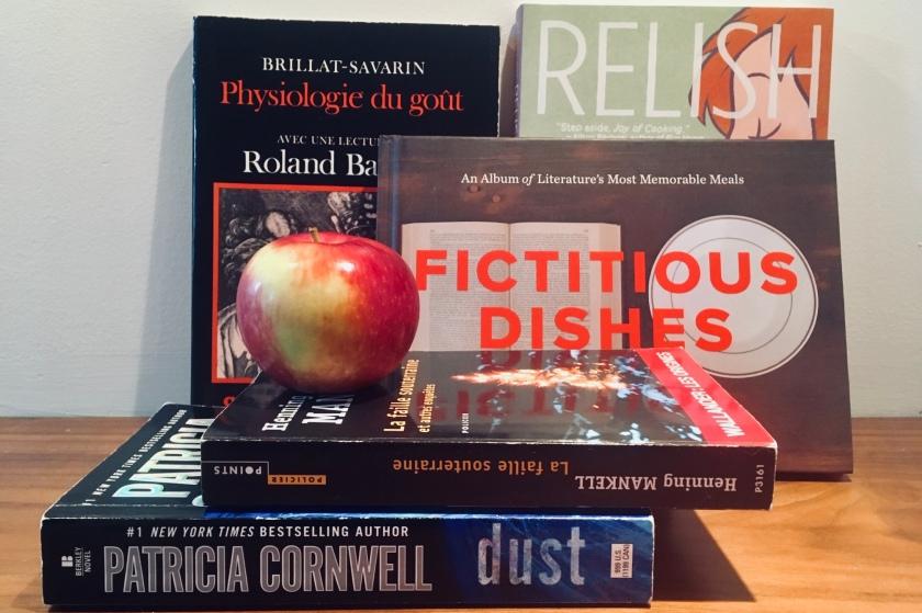 romans policiers, gastronomie