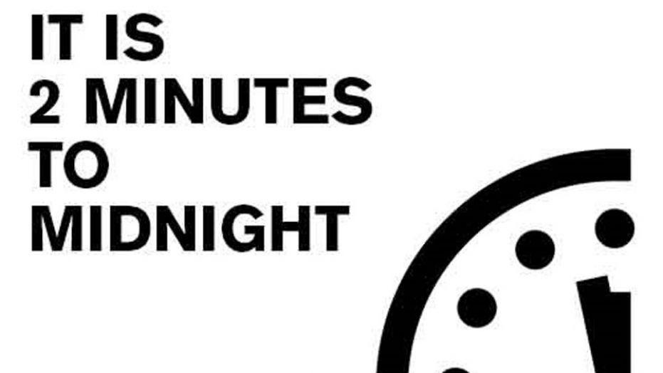 horloge fin du monde apocalypse minuit moins deux minutes