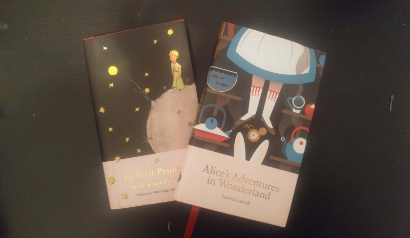 livre, librairie Lello, le monde des livres, littérature, Portugal, voyage, bibliothérapie, Petit Prince, Alice au pays des merveilles