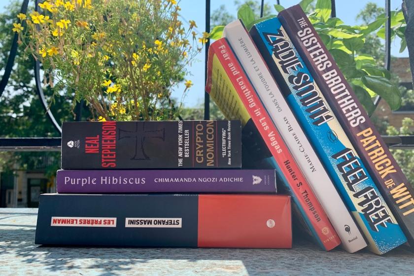 Pile à lire, lectures d'été
